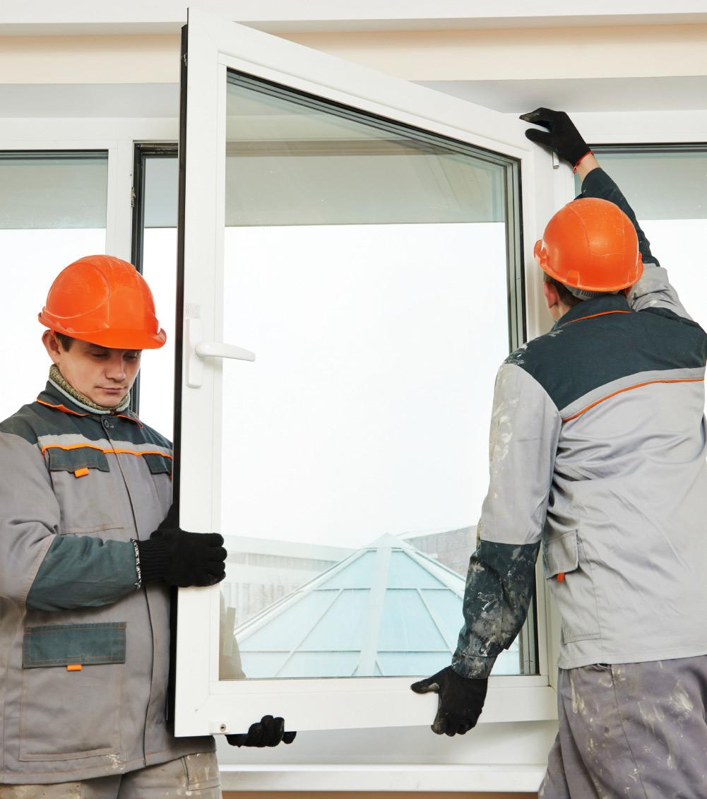 Ino Innenausbau: Fenster montieren